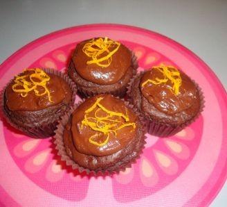 Iced Choc-Orange Muffins