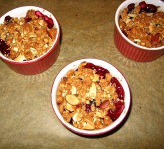 fruit & ice cream pots