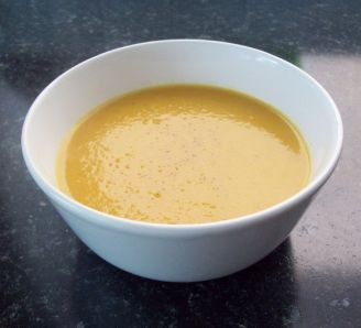 Spicy carrot and potato soup