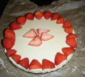 White Chocolate+Brownie Torte