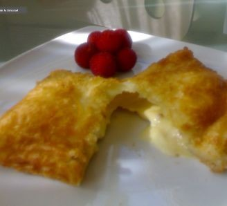 Fried Ice Cream in puff pastry