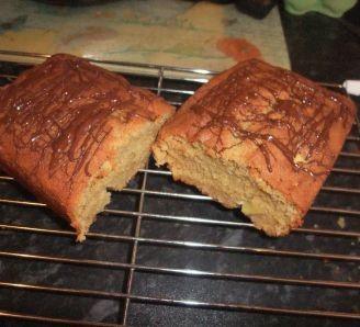 Easy apple tea loaf cake
