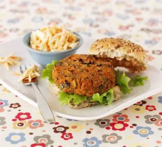 Bean & Carrot Patties