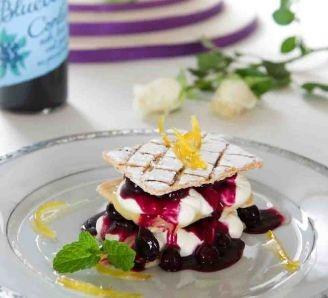 Blueberry & Lemon MilleFeuille