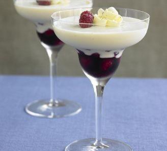 ChocMousse & SpicedRaspberries