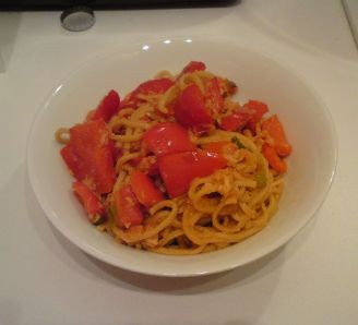 Sweet Chilli Crab Noodles