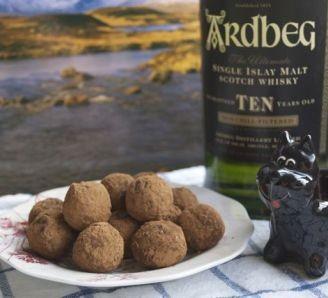 Scots Ginger Whisky Truffles