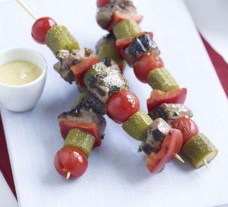 Mrs Elswood BBQ Lamb kebabs