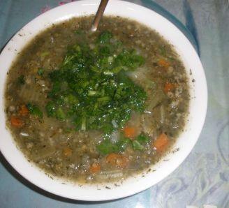 Celery Oat Soup