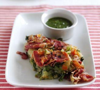 Sweet Cure Bacon Hash