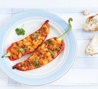 Crab Stuffed Pepper