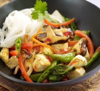 Sweet Chilli Tofu Stir-Fry