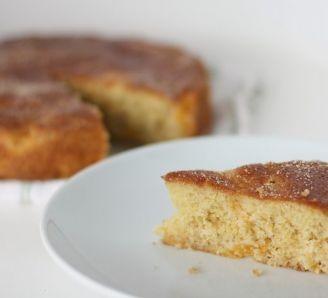 Apricot and cinnamon cake