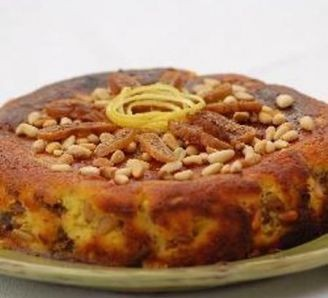 Fig and Date Ricotta Cake