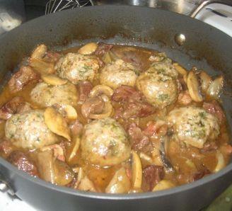 beef,ale and mushroom stew