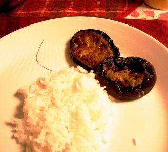 Aubergine Fry or Begun bhaja