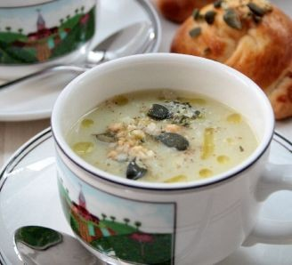 Cauliflower creamy soup