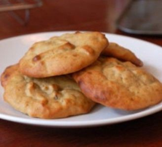 Banana and Nut Cookies