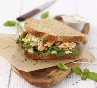 Salmon & Watercress Sandwich
