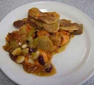 Sausage, Mixed Bean Casserole