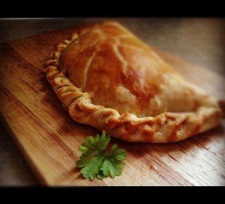very easy Cornish pasty