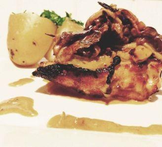 Chicken with Mushroom Sauce