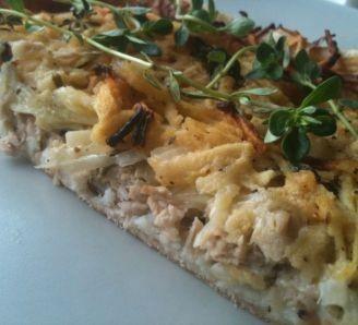 Tasty tuna pie (hot or cold)