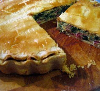 Bacon, Egg & Spinach Pie