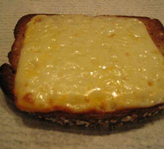 Toast on cheese